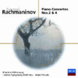 Concerti per pianoforte n.2, n.4 - CD Audio di Sergej Vasilevich Rachmaninov,André Previn,Vladimir Ashkenazy,London Symphony Orchestra