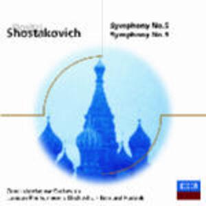 CD Sinfonie n.5, n.9 di Dmitri Shostakovich