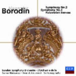 CD Sinfonie n.2, n.3 - Danze polovesiane di Alexander Porfirevic Borodin