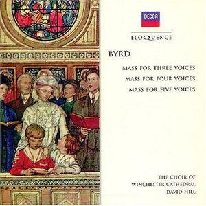CD Three Masses di William Byrd