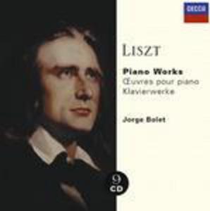 CD Opere per pianoforte di Franz Liszt