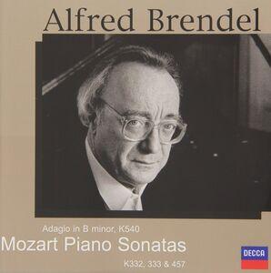 CD Sonate per pianoforte K332, K333, K457 - Adagio K540 di Wolfgang Amadeus Mozart
