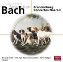 Concerti brandeburghesi n.1, n.2, n.3 - Suite per orchestra BWV1067 - CD Audio di Maurice André,Johann Sebastian Bach,Musici,Heinz Holliger,Severino Gazzelloni,Felix Ayo