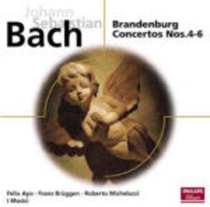 Foto Cover di Concerti brandeburghesi n.4, n.5, n.6, CD di Johann Sebastian Bach,Musici, prodotto da Philips