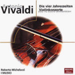 CD Le quattro stagioni - Concerto per violino op.3 n.3, n.6, n.12 di Antonio Vivaldi