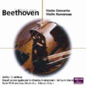 CD Concerto per violino - Romanze per violino n.1, n.2 di Ludwig van Beethoven