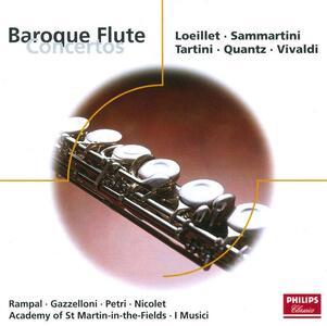 Concerti barocchi per flauto - CD Audio di Jean-Pierre Rampal,Aurele Nicolet,Severino Gazzelloni