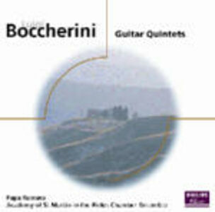 CD Guitar Quintets di Luigi Boccherini
