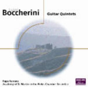 CD Guitar Quintets di Luigi Boccherini