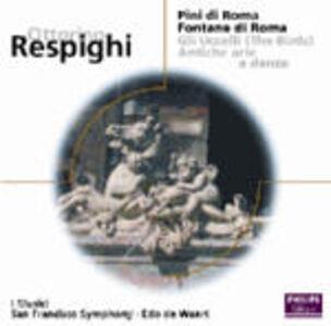 Foto Cover di Pini di Roma - Fontane di Roma - Gli uccelli, CD di AA.VV prodotto da Philips