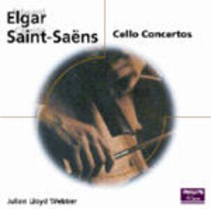 CD Concerti per violoncello Edward Elgar , Camille Saint-Saëns