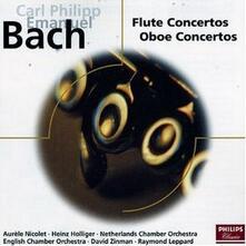 Concerti per flauto e oboe - CD Audio di Carl Philipp Emanuel Bach,Heinz Holliger,Aurele Nicolet