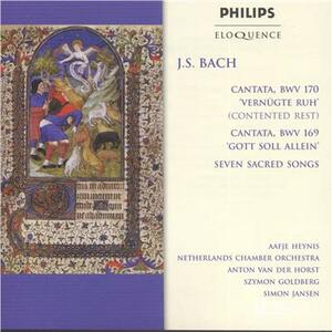 Cantatas & Sacred Songs - CD Audio di Johann Sebastian Bach
