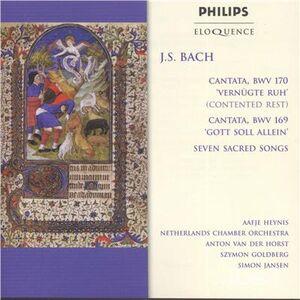 CD Cantatas & Sacred Songs di Johann Sebastian Bach
