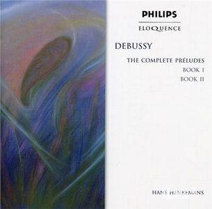 Foto Cover di Preludi, CD di Claude Debussy, prodotto da Eloquence