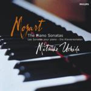 Foto Cover di Sonate per pianoforte complete, CD di Wolfgang Amadeus Mozart,Mitsuko Uchida, prodotto da Philips