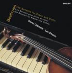 CD Sonate per pianoforte e violino di Ludwig van Beethoven