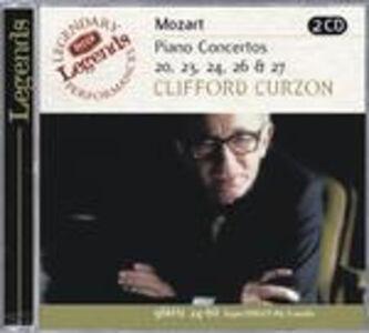CD Concerti per pianoforte n.20, n.23, n.24, n.26, n.27 di Wolfgang Amadeus Mozart