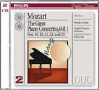 CD Concerti per pianoforte vol.1: n.19, n.20, n.21, n.22, n.23 di Wolfgang Amadeus Mozart