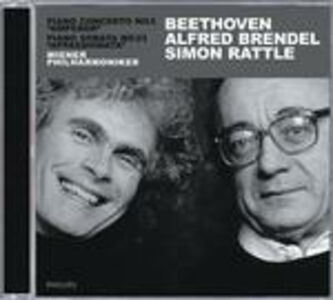 Foto Cover di Concerto per pianoforte n.5 - Sonata per pianoforte n.23, CD di AA.VV prodotto da Philips