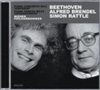 CD Concerto per pianoforte n.5 - Sonata per pianoforte n.23 di Ludwig van Beethoven