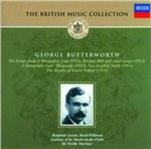 CD Opere varie di George Butterworth