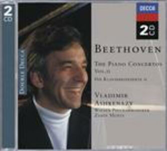 CD Concerti per pianoforte vol.2 di Ludwig van Beethoven