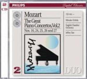 CD Concerti per pianoforte vol.2: n.16, n.24, n.25, n.26, n.27 di Wolfgang Amadeus Mozart