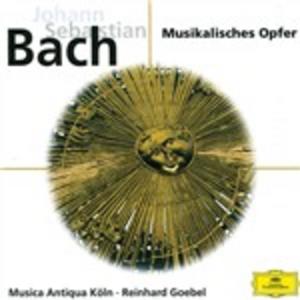 CD L'offerta musicale (Das Musikalische Opfer) di Johann Sebastian Bach