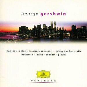 Foto Cover di Rapsodia in blu - Un americano a Parigi - Concerto per pianoforte - Porgy and Bess, CD di George Gershwin, prodotto da Deutsche Grammophon