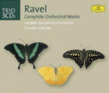 Opere orchestrali complete - CD Audio di Maurice Ravel,Claudio Abbado,London Symphony Orchestra