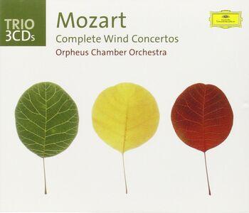 CD Musiche per strumenti a fiato complete di Wolfgang Amadeus Mozart