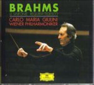 CD Sinfonie complete - Un Requiem tedesco (Ein Deutsches Requiem) di Johannes Brahms