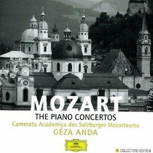 CD Concerti per pianoforte completi di Wolfgang Amadeus Mozart