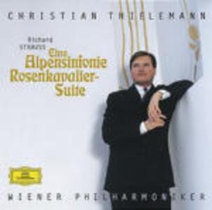 Sinfonia delle Alpi (Eine Alpensinfonie) - Rosenkavalier Suite - CD Audio di Richard Strauss,Christian Thielemann,Wiener Philharmoniker