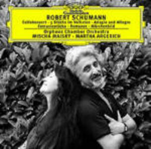 Concerto per violoncello - Stücke im Volkston - CD Audio di Robert Schumann,Martha Argerich,Mischa Maisky