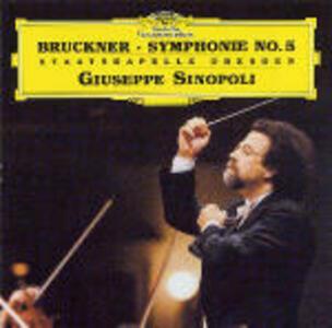 Sinfonia n.5 - CD Audio di Anton Bruckner,Giuseppe Sinopoli,Staatskapelle Dresda