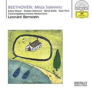 Missa Solemnis - CD Audio di Ludwig van Beethoven,Leonard Bernstein,Royal Concertgebouw Orchestra