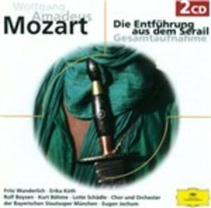 Foto Cover di Il ratto dal serraglio (Die Entführung aus dem Serail), CD di AA.VV prodotto da Deutsche Grammophon