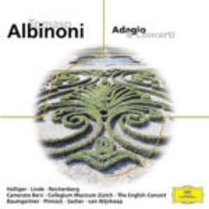 Adagio - Concerti - CD Audio di Tomaso Giovanni Albinoni,English Concert,Trevor Pinnock
