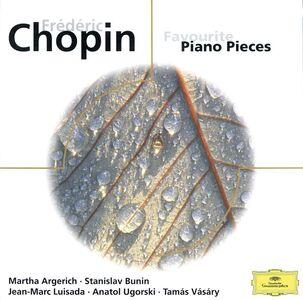 CD Favourite Piano Pieces di Fryderyk Franciszek Chopin