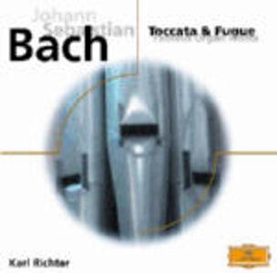CD Toccata e fuga e altre opere per organo di Johann Sebastian Bach