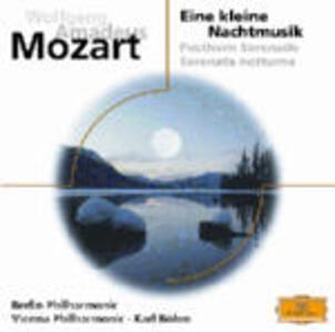 Eine Kleine Nachtmusik K525 - Posthorn Serenade - Serenata Notturna - CD Audio di Wolfgang Amadeus Mozart,Berliner Philharmoniker,Wiener Philharmoniker,Karl Böhm