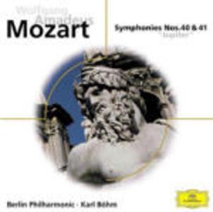 Sinfonie n.40, n.41 - CD Audio di Wolfgang Amadeus Mozart,Berliner Philharmoniker,Karl Böhm