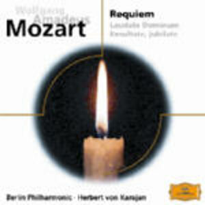 CD Requiem K626 - Laudate Dominum - Exsultate Jubilate di Wolfgang Amadeus Mozart