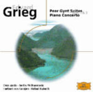 Peer Gynt Suites - Concerto per pianoforte - CD Audio di Edvard Grieg,Neeme Järvi,Rafael Kubelik,Göteborg Symphony Orchestra,Géza Anda