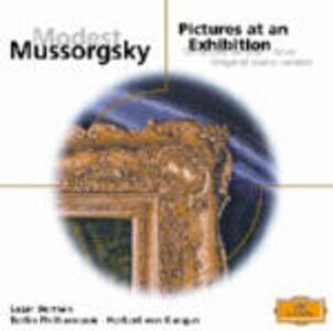 CD Quadri di un'esposizione (Pictures at an Exhibition) di Modest Petrovich Mussorgsky