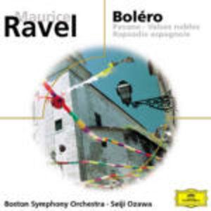 CD Boléro - Alborada del gracioso - La valse - Rapsodia spagnola di Maurice Ravel