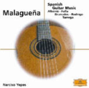Spanish Guitar Music Malaguena - CD Audio di Narciso Yepes