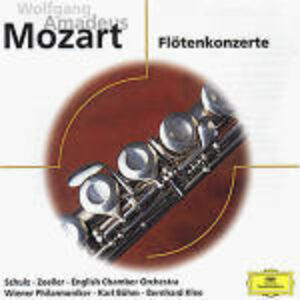 Foto Cover di Concerti per flauto n.1, n.2 - Concerto per flauto e arpa, CD di AA.VV prodotto da Deutsche Grammophon